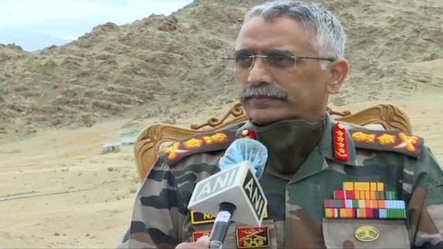 Indian army chief General MM Naravane